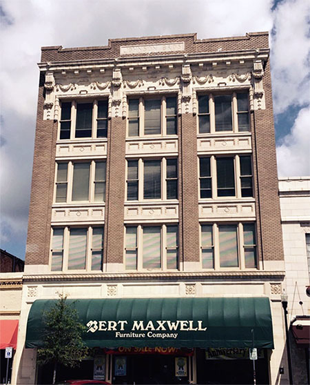 Bert Maxwell Furniture building